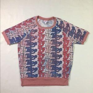 LuLaRoe 2018 Americana Collection Jane Shirt